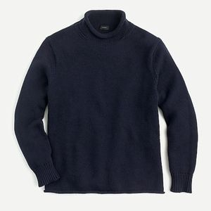 J. CREW ROLLNECK BRAND NEW SWEATER NAVY